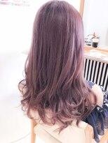 グラデーションカラー☆Wカラーピンクカラー 暖色系カラー