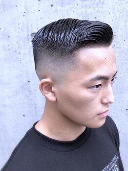 フェードアンドライン 高井戸店(FADE&LINE)の写真/《【新規限定】CUT¥3,000/CUT&SPA¥5,000》メンズの身だしなみは頭皮から!ニオイや汚れもスッキリ落とす