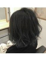 リリー ヘアーデザイン(Lilly hair design)ブルー×グレイパール