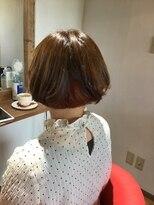 ヘアラボウィッシュ(hair labo Wish)ナチュラルボブ(^^)