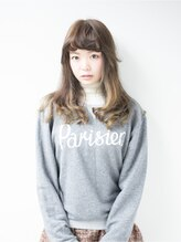 ヘア サロン イエロー(hair salon YELLOW)【YELLOW】FRENCH long ×グリーングラデ