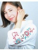 ヘアメイクエシェル 小松店(Hair Make e‐shell)外ハネぼぶ
