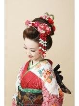 キーポイント(K Point)新日本髪(結綿)