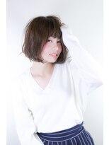ノル(nol hair&spa)モテふわボブ
