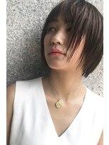 ヘアーアンドメイク フォルス(HAIR&MAKE FORS)【FORS】西田ゆか 乾かすだけでキマる☆ナチュショート