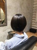 クレエ ヘアー デザイン(creer hair design)ショートスタイル