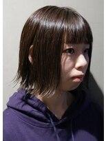 アイ エス ビー エヌ(ISBN)切りっぱなしボブ