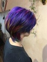 Colorful派手髪♪