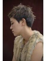 バルーンヘアー(BALLOON HAIR)【BALLOON HAIR】憧れサロンガールズのユニセックスショート