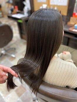 アンダンテ 名取駅前店(andante)の写真/【名取駅すぐ!】髪質改善ヘアエステで、今までのお悩みにさよならしませんか?何でも気兼ねなくご相談を♪
