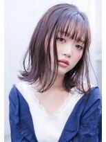 【ROJITHA】 アイスブルージュ×シースルーバング