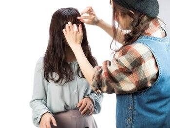 """ヘナファクトリー 国分寺店の写真/女性同士だからこそ髪の悩みを相談しやすく安心♪髪を労わる女性スタイリストが貴女の""""美しい""""をサポート♪"""
