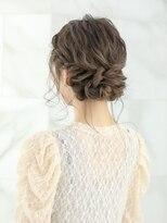 【AUBE HAIR】サイド編み込み×アップスタイル