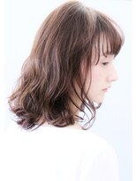 ココ ヘアーアンドライフスタイル(COCO hair&lifestyle)【COCO山口】大人の柔らかシナモンベージュ×ミディアム