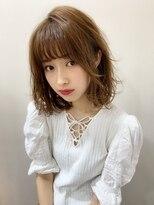 マリア(Maria by afloat)【重山】外ハネカジュアル無造作カール3Dカラーボブディ☆