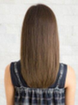 アトリエ モーリス ヘアー 小手指店(Atelier Morris Hair)の写真/【小手指駅徒歩2分】高品質なのにリーズナブルが実現☆自然な柔らかさでリピーター続出。ツヤ感&潤いUP!