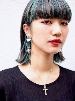 ベロニカ ヘアー(Beronica HAIR)の写真/旬な透明感のあるカラーやハイトーンまで、アナタに一番似合う色で、周りと差が付くアナタだけのstyleを―
