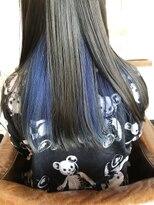 ヘアードレッサーズディレーヴ(Hairdresser'sDeReve)ブルー系カラー