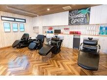 ヘアーサロン アージェ(Hair Salon Ange)の雰囲気(楽な体勢を選べる様サイド、バックの3 種類のシャンプー台を完備)