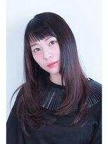 スクエアウーノ(HAIR MAKE SQUARE*uno HAKATA)ナチュラルストレート【博多・美野島・住吉】