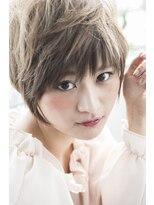 大人なふんわりショート☆【miel hair blanc】