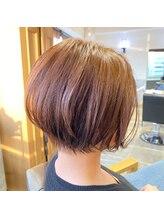 ラボヌールヘアーレーヴ 池袋店(La Bonheur hair reve)大人ショートボブ