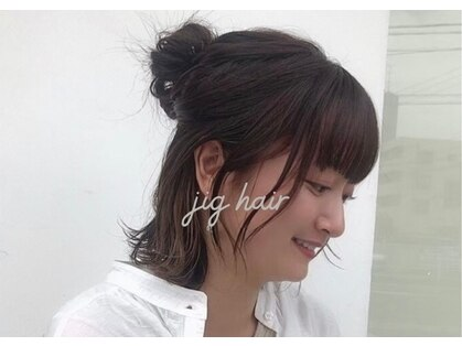 ジグヘアー(jig hair)の写真