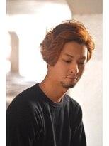 ギフト ヘアー サロン(gift hair salon)mellow orange color ミディアム (熊本・通町筋・上通り)