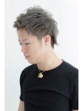 ヘアーメイク アンソメット(HAIR MAKE)〔UN SOMMET〕渕上仁志 2ブロックショートスタイル