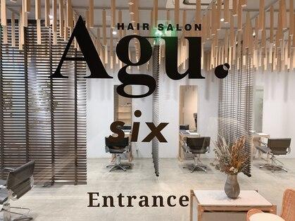 アグ ヘアー シックス 松本駅前店(Agu hair six)の写真