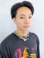 アルバム シンジュク(ALBUM SHINJUKU)マッシュウルフセンターパートスリークショート_8230