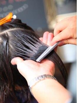 リブラヘアー 新所沢店 (Libra HAIR)の写真/スチームミスト(加熱水蒸気)で潤い&色持ちUP!!透明感のあるカラーを楽しみたい方におススメです♪
