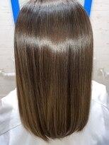 スローライフヘアーデザインアンドスパラウンジ(Slow life Hair design spa lounge)高濃度水素質感矯正ミネコラ トリプル(通常の水素量3倍)