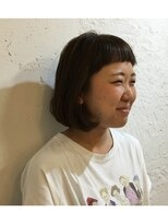 ファウンド(found)ぱっつん前髪ボブ