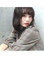 フェス カットアンドカラーズ(FESS cut&colors)【ロブ×明暗カラー】シルバーグレージュ『FESS 鶴丸』