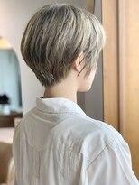 ルーチェ ヘアサロン(Luce hair salon)ハイトーンでショート☆