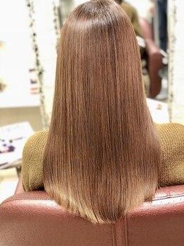 ベルスタイル(Belle style)の写真/一人ひとりの髪質をしっかり見極めてオーダーメイドケア♪メディアで話題の『ムコタ髪質改善』を体験して!