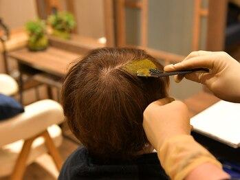 アオイ(AOI)の写真/天然成分由来だから髪のストレスを軽減!!おひとりおひとりのお悩みに合わせた施術をさせていただきます。