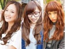 ヘアアンドメイク アール 歌舞伎町店(Hair & Make R)の雰囲気(ボブスタイルでも100本以上で馴染みます!全てスタッフ太鼓判♪)