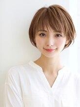 ミチオノザワヘアサロンギンザ 静岡店(Michio Nozawa HAIR SALON Ginza)艶ブラウンジュカラー×小顔ショート