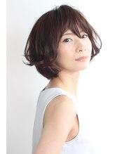 アミィヘアー アネックス(Ami Hair annex)ラフな大人パーマボブ