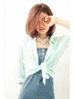 【MINX】ステキ女子のツヤカールボブで 上戸彩さん風の髪型に!