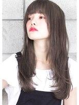 ヘアサロン ガリカ 表参道(hair salon Gallica)『 ダークグレージュ 』 × 『 外国人風 』小顔デザインカラー♪