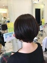 クール ヘアー ギャラリー 神明町店(COOL Hair gallery)ひし形美シルエットショート