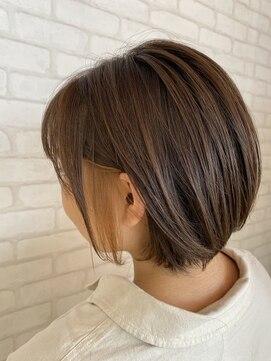 ビス ヘア アンド ビューティー 西新井店(Vis Hair&Beauty)10代20代インナーカラー×ベージュ/フェイスフレーミングカラー