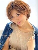 アグ ヘアー ドレス 喜久田店(Agu hair dress)《Agu hair》大人かわいい愛され耳かけショート