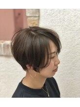 ドゥ スタイル 三国ヶ丘店(Duex Style)【イルミナカラー】マットグレージュ×小顔ローライト