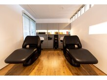 ビジ 天満橋(biji)の雰囲気(半個室のシャンプーブース♪SPAのお客様には完全個室もご用意。)