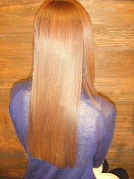 リンピオピア(Limpio pia)の写真/【極上ツヤツヤ縮毛矯正+カット+プラチナレスキューTr¥10800】ナチュラルなストレートヘアで夢のツヤ髪に♪