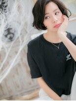 ■mod's上尾6-4★■黒髪がso cool !大人かわいいラフボブ
